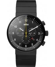 Braun BN0095BKBKBTG Pánská prestiž černá chronograf hodinky