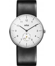 Braun BN0024WHBKG Pánská bílá černá hodinky