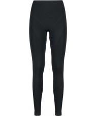 Odlo Dámské černé černé grafitové šedé baselayer kalhoty