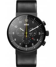 Braun BN0095BKG Pánská prestiž černá chronograf hodinky