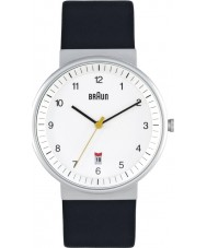 Braun BN0032WHBKG Pánská vše bílá černá hodinky