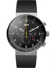 Braun BN0095BKSLBKG Pánská prestiž černá chronograf hodinky