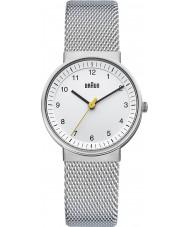 Braun BN0031WHSLMHL Dámská stříbrná bílá hodinky