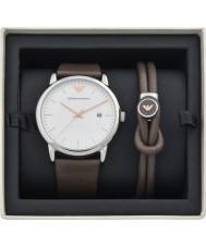 35b79d28267 Emporio Armani AR80006 Pánská sada hodinky a náramek
