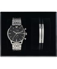 c4fd41cced Emporio Armani AR80009 Pánská sada hodinky a náramek