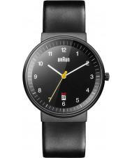 Braun BN0032BKBKG Pánská celé černé hodinky