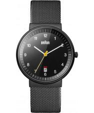 Braun BN0032BKBKMHG Pánská celé černé hodinky