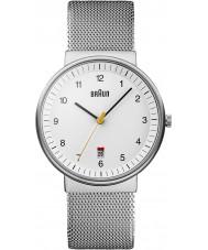 Braun BN0032WHSLMHG Pánské hodinky Stříbrná