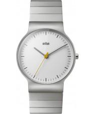 Braun BN0211SLBTG Pánské klasické tenké stříbrné oceli náramek hodinky