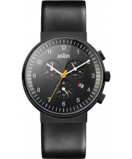 Braun BN0035BKBKG Pánské chronograf všechny černé hodinky