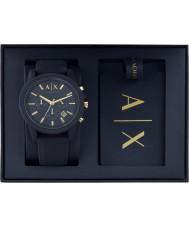 45e500fc59 Armani Exchange AX7105 Pánská sportovní hodinky a zavazadla taška dárek