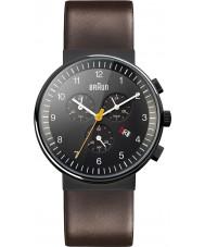 Braun BN0035BKBRG Pánské hodinky černými hnědý