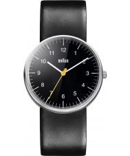 Braun BN0021BKBKG Pánská celé černé quartzové hodinky