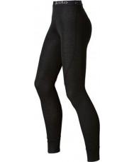 Odlo 150541-15000-M Dámy trend černé Dlouhého Johna baselayers kalhoty - velikost M (14)