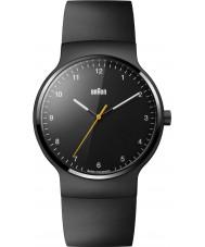 Braun BN0221BKBKG Pánská prestiž tenký černý gumový pásek hodinky