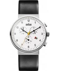 Braun BN0035WHBKG Pánské chronograf černá bílá watch