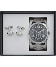 75499b65c2 Guess UBS00004 Pánská horizontová hodinky a manžetové knoflíky
