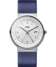 Braun BN0142WHBLG Pánská bílá modrá hodinky