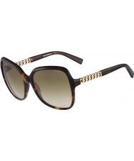 Karl Lagerfeld Dámské kl841s Havana sluneční brýle