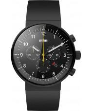 Braun BN0095BKBKBKG Pánská prestiž černá chronograf hodinky