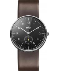 Braun BN0024BKBRG Pánské hodinky černými hnědý