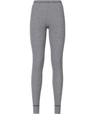 Odlo Dámské šedé melang baselayer kalhoty